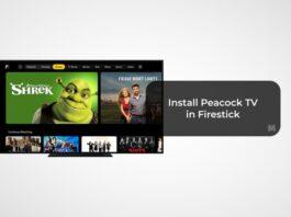 Get Peacock TV on Firestick