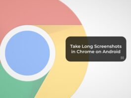 Take Long Screenshots in Chrome on Android