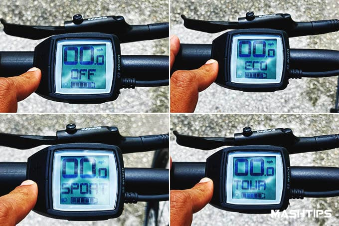 Trek Allant+ 7 Electric Bike Riding Modes