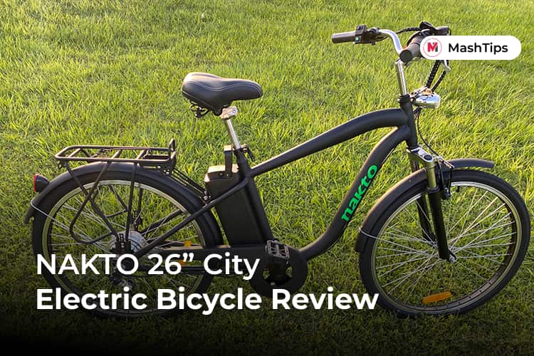 NAKTO City Electric Bicycle Review