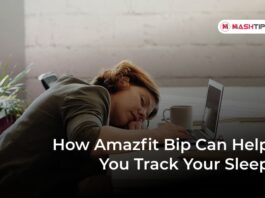 How Amazfit Bip Can Help You Track Your Sleep